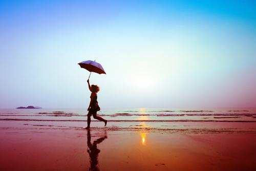 silhouette-happy-running-woman-umbrella-450w-141473875